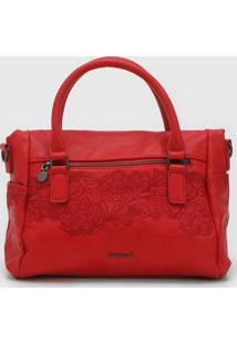 Bolsa Desigual Hand Bag Melody Vermelha