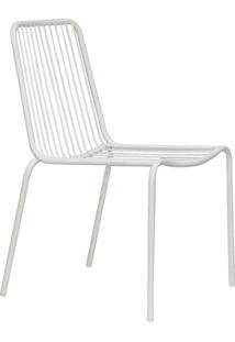 Cadeira De Jardim Grid Branca