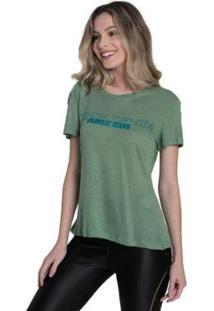 Camiseta Osmoze Genesis Feminina - Feminino-Verde