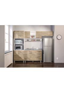 Cozinha Compacta Floripa #16 Com Gabinet