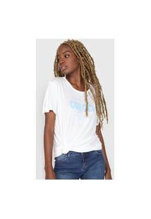 Camiseta Colcci Original Off-White