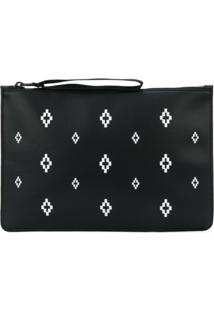 Marcelo Burlon County Of Milan Clutch 'Cross' - Preto
