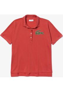 Polo Lacoste Regular Fit Rosa - Kanui