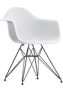 Poltrona Eames Dar C/ Braço Or-1121 – Or Design - Branco