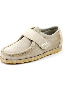 Sapato 575 Camurça Bege
