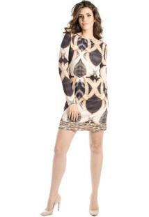 72ff620a2a Vestido Alphorria Animal Print feminino