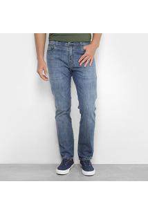 Calça Jeans Slim Ellus Estonada Masculina - Masculino