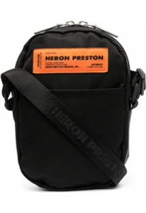 Heron Preston Bolsa Transversal Com Patch De Logo - Preto