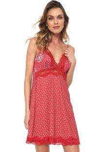 329425828 ... Camisola Morena Rosa Curta Detalhe Renda Vermelha