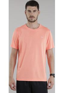 Camiseta Ace Basic Dry Laranja Neon