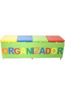 Baú Brink Sul Organizador Multicolorido