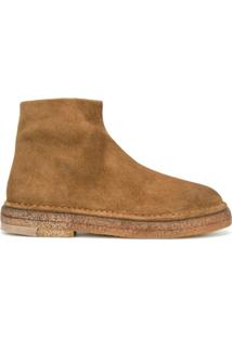 Marsèll Ankle Boot Com Amarração - Marrom