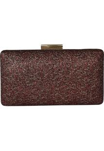 Bolsa Bag Dreams Clutch Lana Vinho