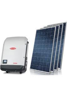 Gerador De Energia Solar Nacional Centrium Energy Gef-12800Fsns 12,8 Kwp Trifasico 380V Painel 320W String Box