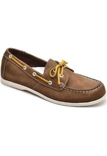 Mocassim Top Franca Shoes Casual Masculino - Masculino-Caramelo