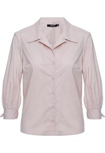 Camisa Tricoline Laço Herculano