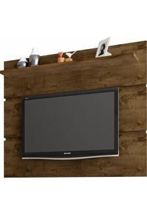 Painel Para Tv Até 55 Polegadas Safira Rústico - Bechara Móveis