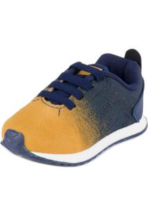 Tênis Mini Walk Casual - Klin - Masculino-Amarelo