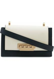 Zac Zac Posen Bolsa Tiracolo Color Block - Branco