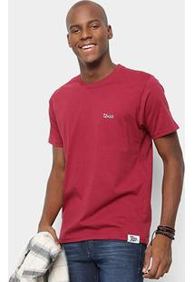 Camiseta Toiss Sagrado Coração - Masculino-Bordô