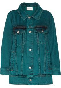 Matthew Adams Dolan Jaqueta Jeans - Verde