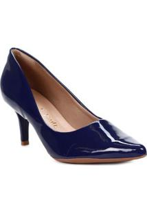 Sapato Scarpin Feminino Crysalis Azul