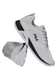 a83f3ccdd6 Fut Fanatics. Calçado Tênis Fila Feminino Branco Flexível Fitness Eva  Sintético Fxt Intense