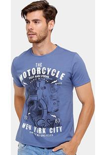 Camiseta Tigs Motorcycle Nyc Masculina - Masculino