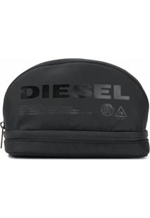 Diesel Necessaire Com Logo - Preto