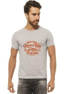 Camiseta Joss Estampada - Repair Service - Masculina - Masculino-Mescla