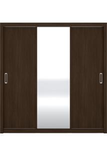 Guarda Roupa 3 Portas Residence Ébano Demóbile