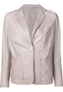Salvatore Santoro Single Breasted Blazer - Neutro