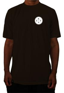 3fb6042d4c ... Camiseta Manga Curta Skate Eterno Elite Ox Marrom