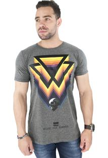 Camiseta Wolke Gola Careca Hot Summer