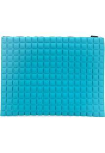 No Ka' Oi Nécessaire Grande Com Textura - Azul