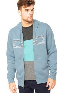 Blusa Moletom Oakley The Hype Fleece Faded Denim
