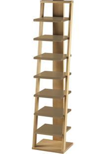 Prateleira Stairway Marrom Médio