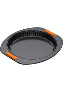 Forma Antiaderente Fundo Removível Bakeware Le Creuset Preta 28X3Cm - 24790