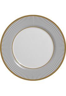 Prato Sobremesa Alleanza Ritz Cerâmica 19,5Cm