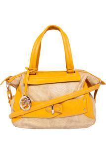Bolsa Miss Unique Grande Amarela