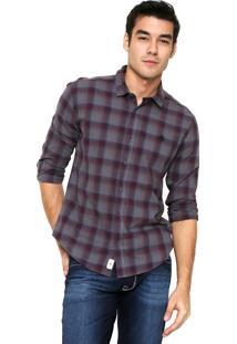 Camisa Timberland Pattern Cinza
