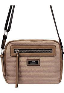 Bolsa Crossbody Its! Nylon Tan