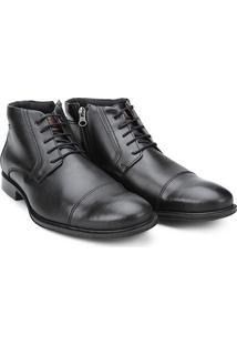 Sapato Social Mariner Cano Alto Atlanta Masculino - Masculino