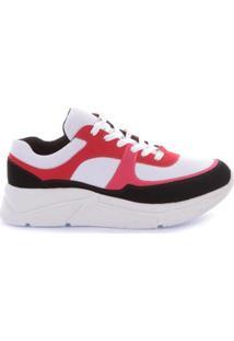 Tênis Di Valentini Sneaker Nobuck Feminino - Feminino-Preto+Branco