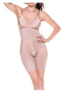 Modelador Com Pernas E Abertura Frontal Mondress (345R) Cetinete E Busto Em Lycra®
