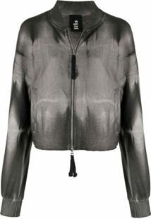 Thom Krom Bleached-Effect Jacket - Preto