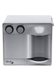 Purificador Agua Refrigerado Por Compressor Soft Fit Prata 127V