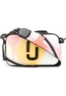 Marc Jacobs Bolsa Transversal Com Estampa - Branco