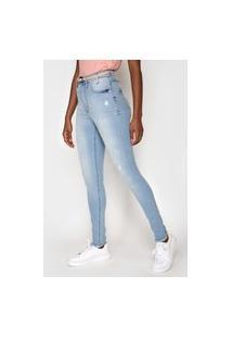 Calça Jeans Lez A Lez Skinny Aruba Azul