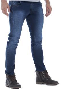 Calça Jeans Alado Store Skinny Azul